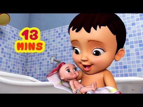 சமத்து பாப்பா ஜோரா குளிச்சாச்சு   Tamil Rhymes for Children   Infobells