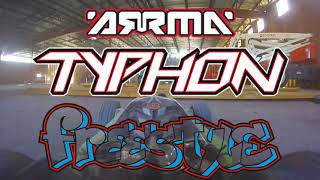 RC FPV *Freestyle* ARRMA Typhon 2S at Construction Site/Convenience Store