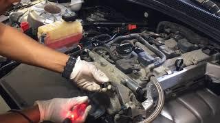 Diagnosing Cadillac ATS 2.0 Turbo, check engine light on and loss of power .