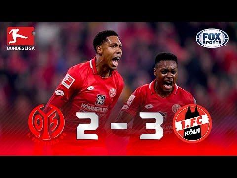 GOLAAAAÇO E VIRADA! Mainz faz 3 a 1 no Köln pela Bundesliga