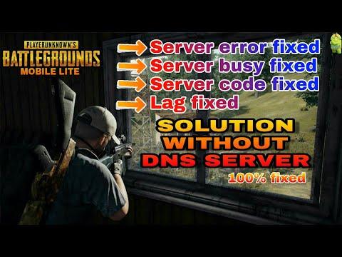 Pubg lite Best DNS And DNS Server Code || Best DNS for Pubg