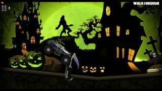 Машинка #хэллоуин #монстр-трак #мультик / #Toycar # Halloween # monster-truck #cartoonmarch 10