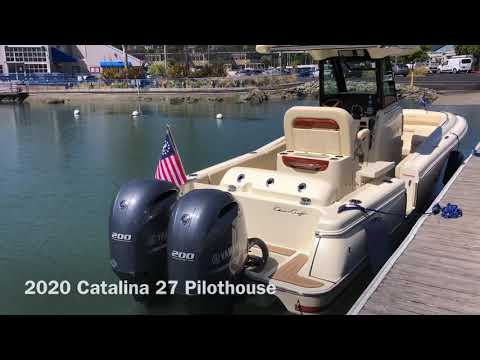 Chris-Craft Catalina 27 video