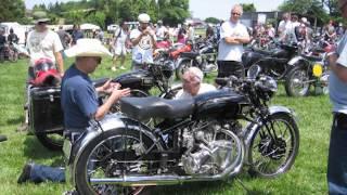 British & European Classic Motorcycle Day 2012