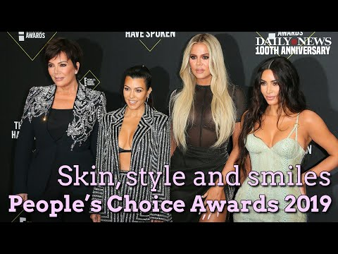 People's Choice 2019 awards red carpet