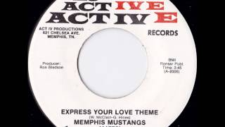Memphis Mustangs- Express Your Love Theme