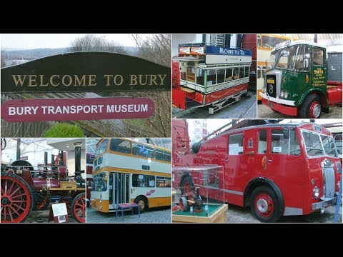 A visit to the Bury Transport Museum 13th January 2018