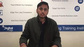 Digital marketing course in Noida I Digital Edge Institute