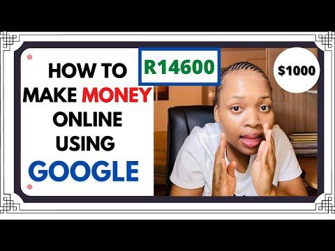 , title : 'HOW TO MAKE MONEY ONLINE USING GOOGLE!!!*legit*