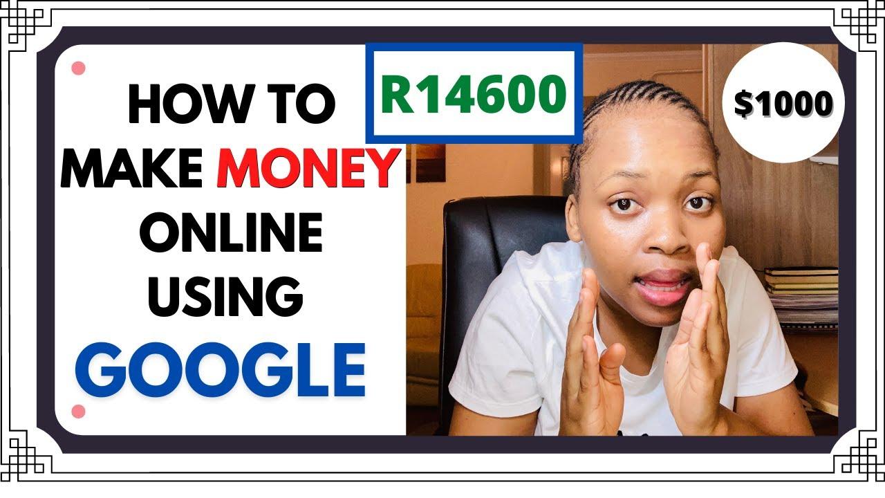 HOW TO EARN MONEY ONLINE UTILIZING GOOGLE!!! * legit * thumbnail