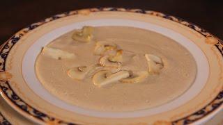 Грибной крем-суп. Рецепт от шеф-повара