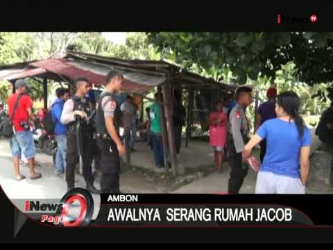 Bentrok Antar Warga Di Ambon, Maluku - iNews Pagi 10/08
