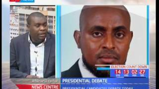 News Centre 24th July 2017 - Discussion on Presidential Debate