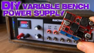 Variable Power Supply Unit with Fixed Outputs DIY