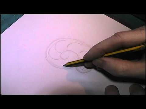 Basic Scrollwork Tutorial Drawing Formula By Shaun Hughes Mp3