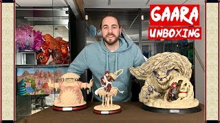 Unboxing - Cloud Studio : Gaara Of The Sand W/ Ultimate Defense Naruto Statue