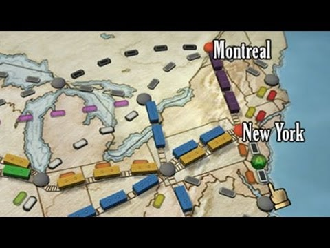 Ticket to Ride Xbox 360
