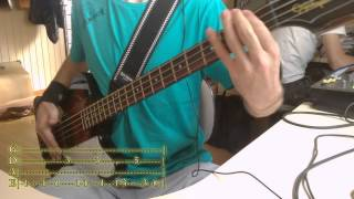 ALIEN ANT FARM - Smooth Criminal (Bass Cover WITH TABS)
