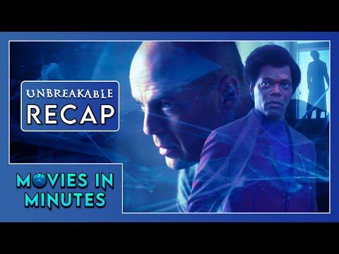 UNBREAKABLE in 4 minutes (Movie Recap)
