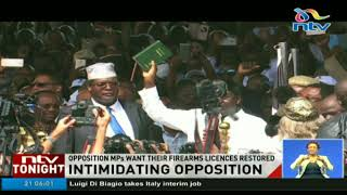Nasa MPs sue State in security dispute - VIDEO