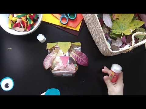 Video v článku Tvoříme s dětmi: podzimní sovičky