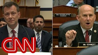 Strzok hearing erupts: You need your medication!