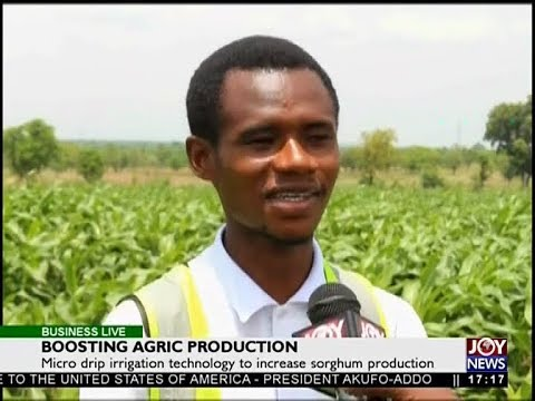 Boosting Agric Production - Business Live on JoyNews (6-4-18)