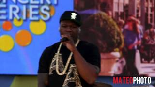"50 Cent Featuring Joe - ""Big Rich Town"" Live On Good Morning America"