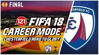 FIFA 18 Chesterfield Road To Glory: Final UEFA Europa League Lawan Tottenham Hotspur #121