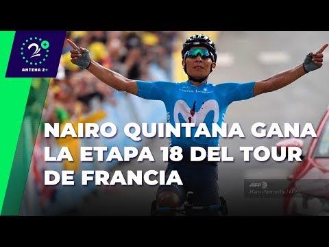 ¡Vibrante! La emocionante narracion tras el triunfo de Nairo en el Tour de Francia