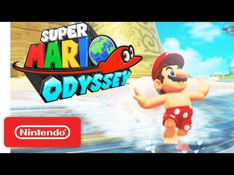 Super Mario Odyssey Trailer - A CAPtivating Adventure! - Nintendo Switch