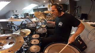 """Thomas Lang recording """"Switch On"""" for Javier Salinas, Oct 15th 2019"""