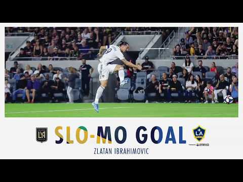 SLO-MO GOAL: Zlatan Ibrahimovic scores off ridiculous assist from Cristian Pavon against LAFC