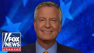 Tucker presses Bill de Blasio: NYC is dirty, and getting dirtier