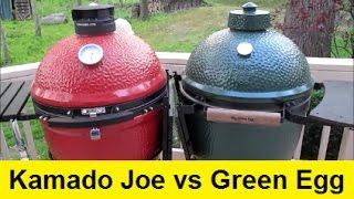 Big Green Egg vs Kamado Joe Ceramic Grills