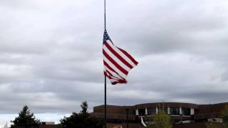 Half Mast and Half Staff (by the Colonial Flag Foundation)