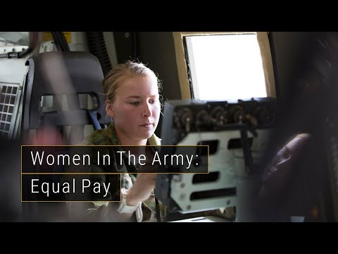 Women in the Army - Equal Pay