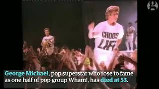 George Michael Video Obituary Via The Gardain