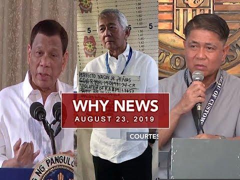 [UNTV]  UNTV: Why News (August 23, 2019)