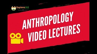 Online Coaching for Anthropology Optional