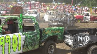 Comber Fair Demolition Derby 2018 | Trucks