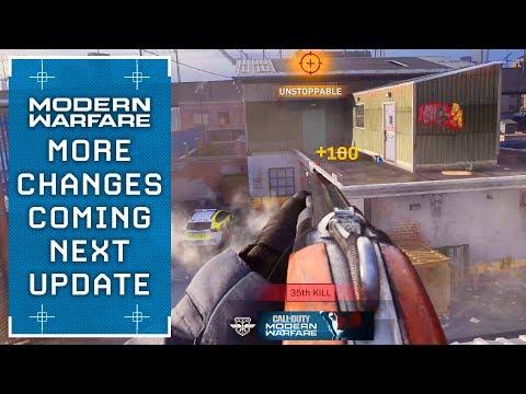 Modern Warfare: Even *More* Big Changes Coming Next Update (Update 1.09)