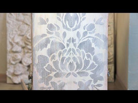 Реставрация старой мебели, видеоинструкция - смотреть видео