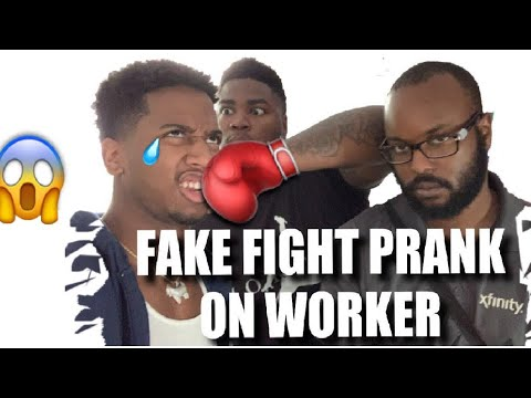 Download Fake F I G H T Prank On Worker He Canceled Our Services
