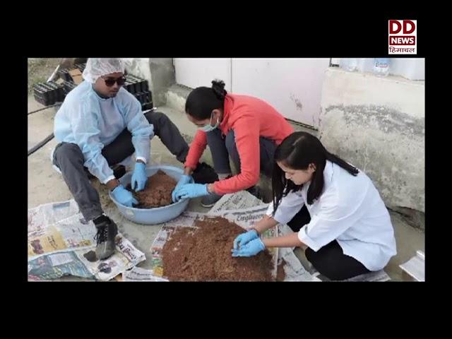 हिमालय जैव संपदा प्रोद्योगिकी संस्थान पालमपुर ने की मोईक्रोब की रवोजI