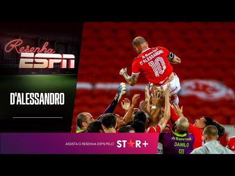 'TEM GENTE QUE NÃO ENTENDE QUE SOMOS PESSOAS NORMAIS'; D'Alessandro abre o jogo no Resenha ESPN