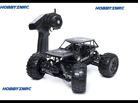 Hobbyinrc - Alloy High Speed RC Monster Remote Control Off Road Car UnBoxing