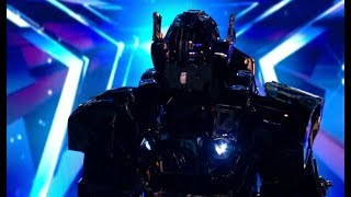 UNEXPECTED EVIL Robot Wows The Judges