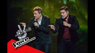 Coach Bart en Dries gaan voor The Monkey Song | Finale | The Voice van Vlaanderen | VTM