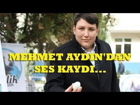 Çiftlik Bank'ın Sahibi Mehmet Aydın'dan Ses Kaydı Geçmiş Olsun